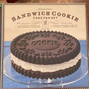 Sandwich cookie cake pan set